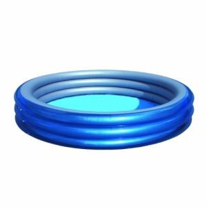 Bestway 51044 - Planschbecken Big Metallic 3-Ring Pool, 249 x 53 cm