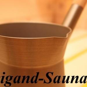 Echtfinnische Saunaaufgusskanne aus Aluminium mit Aussgießer von Weigand Wellness 6410412303547