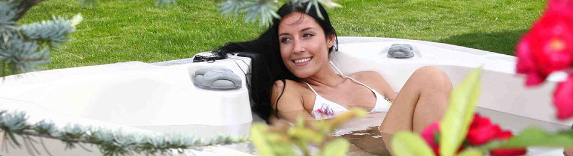 Pool und Sauna für daheim
